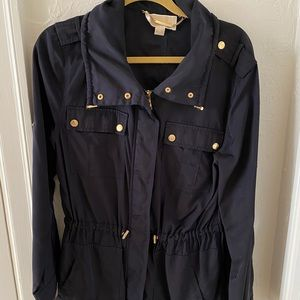 Michael Kors Gold & Navy Jacket